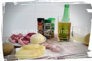 Chuletas horno ingredientes