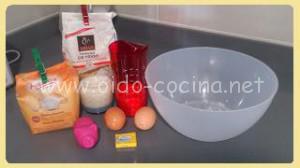 Crepes ingredientes