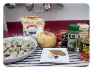 Almejas marinera ingredientes