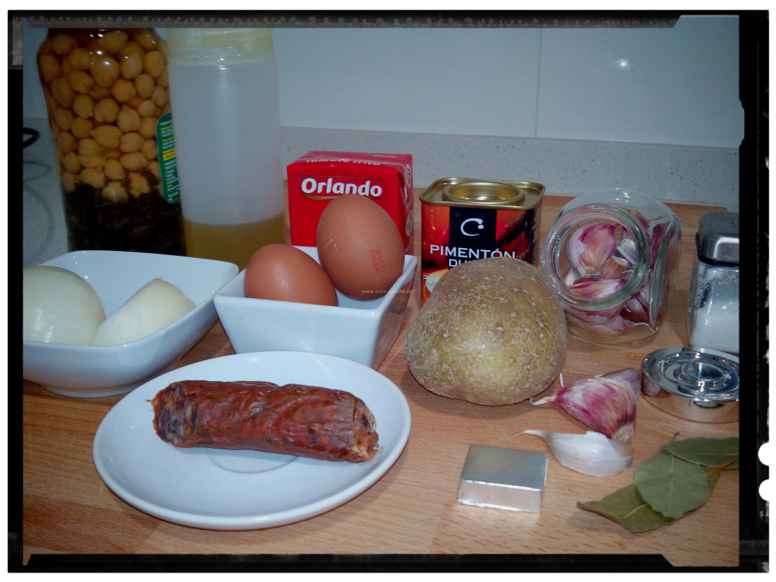Potaje de garbanzos y acelgas o do cocina - Oido cocina coruna ...